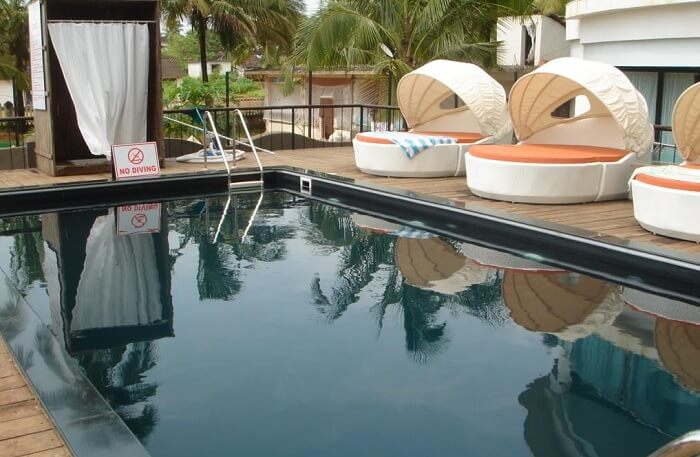 Fahrenheit Hotels and Resorts has one of the best pool side furniture