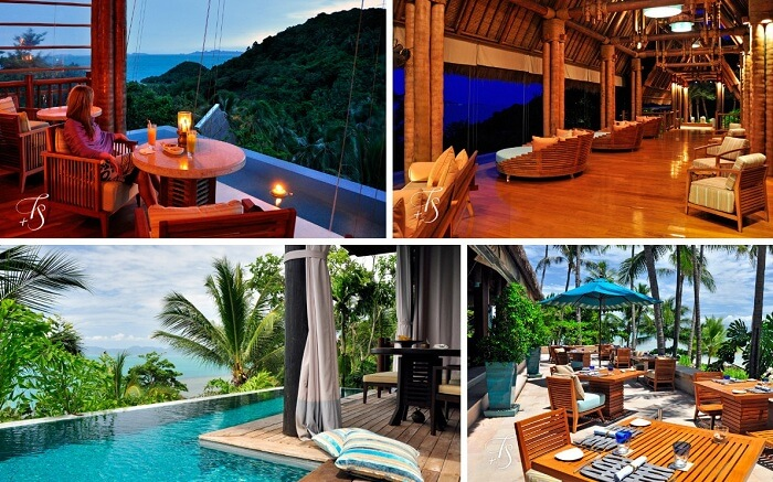 Many views from the Four Seasons Resort in Koh Samui