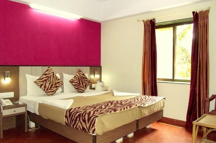 Hotel Viva Baga's beautiful room