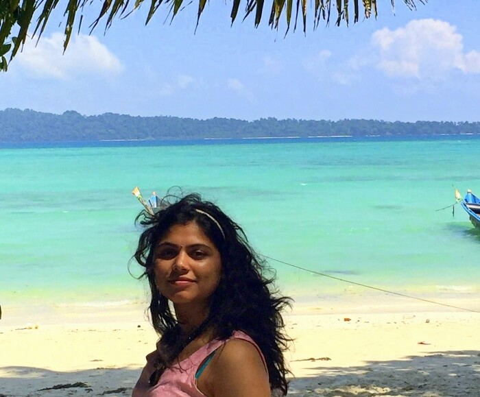 enjoying the Andaman islands