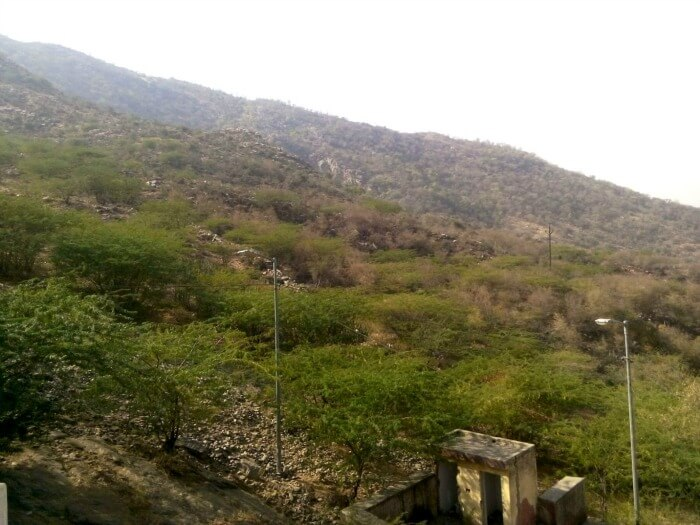 The beautiful city of Ajmer