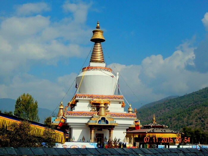 National Memorial Chorten in Bhutan