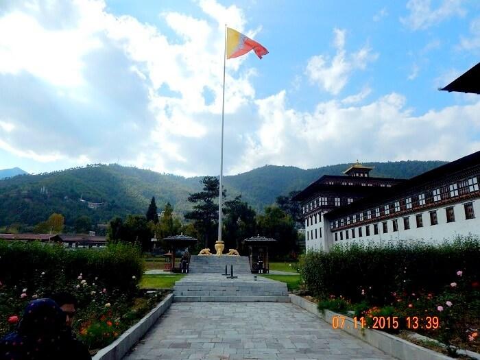 Tashi Chho Dzong in Bhutan