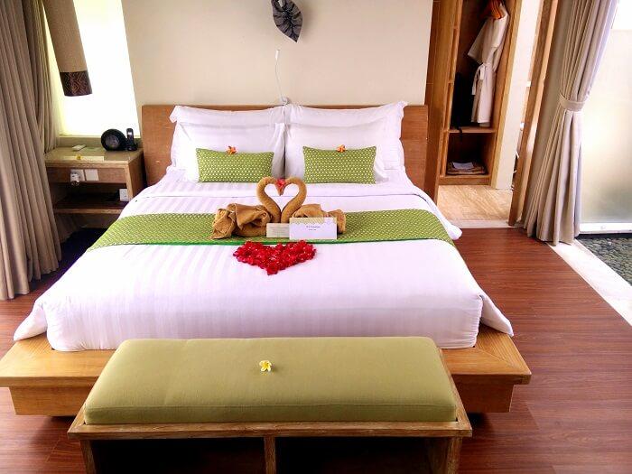 The resort Inne Villa in Bali