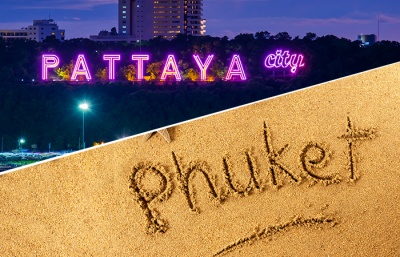 A comparison of Pattaya & Phuket
