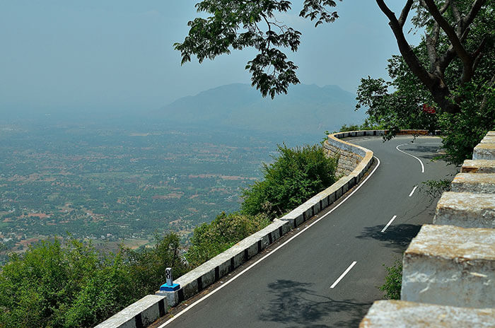 The spectacular roads, perfect for a road trip from Chennai to Yelagiri