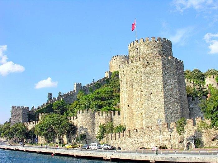 Rumeli Fortress in Turkey