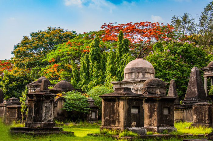 The South Park Cemetery in Kolkata