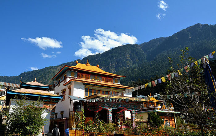 Witness the beauty of the Tibetan Monastery in Manali