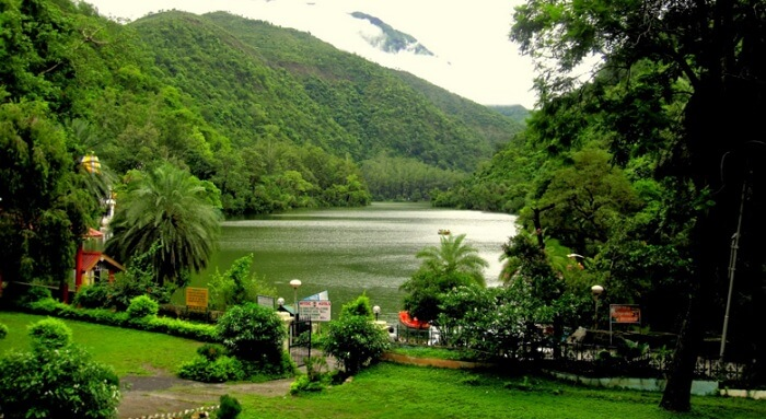 Lush greenery can be seen on a weekend getaway to Renuka Lake
