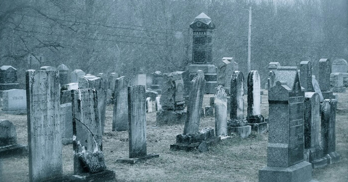 Scary cemeteries in India