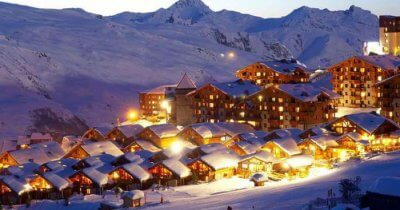 Les Menuires - one of the breath taking ski resorts in France