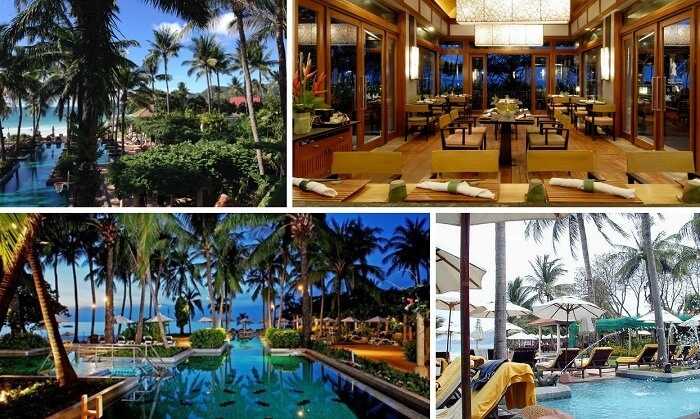A collage of the best of Centara Grand Beach Resort in Koh Samui