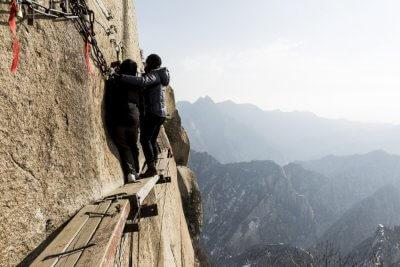 Mount Huashan Dangerous hiking