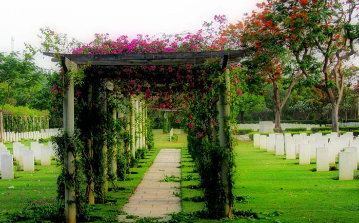 The haunted Delhi War Cemetery