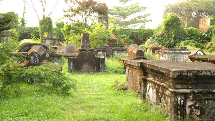 Dutch Cemetery in Kochi