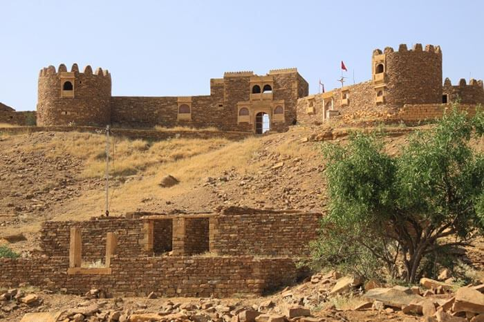 The abandoned village of Kuldhara in Rajasthan