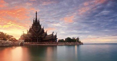The beautiful Truth Sanctuary in Pattaya