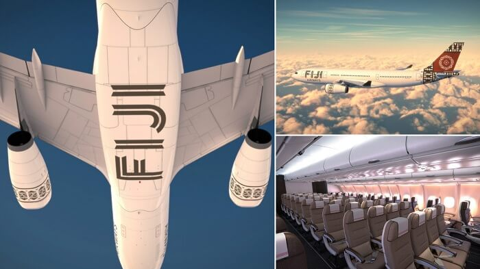 A photo collection of the new Fiji Airlines