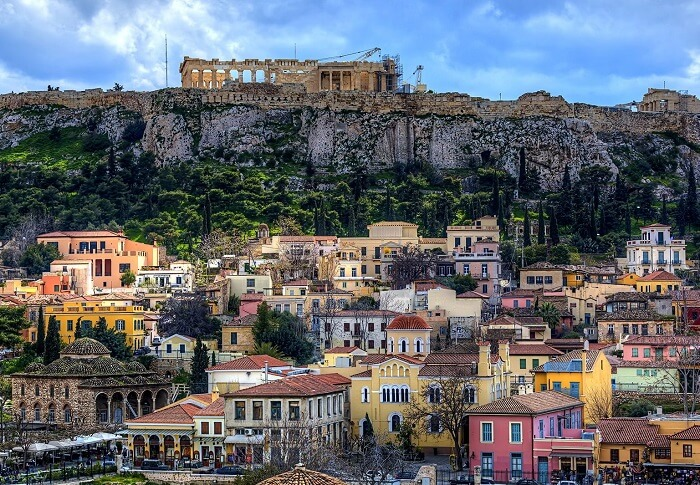 The best place to visit in Greece is Athens
