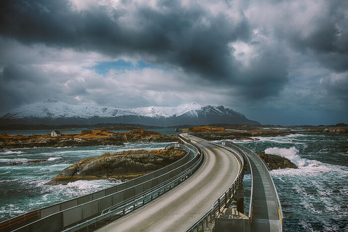 The beauty as well as deadliness of Atlantic Ocean Road is unparalleled