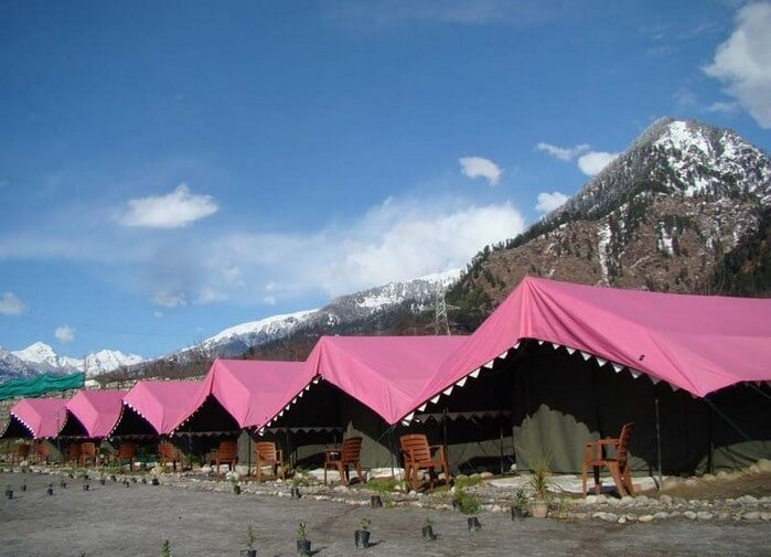 Riverside camping in Manali provides packages for several water sports
