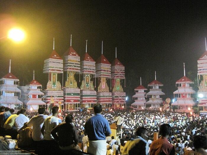 Take part in the festive celebrations at Chettikulangara Bhagavathy Temple
