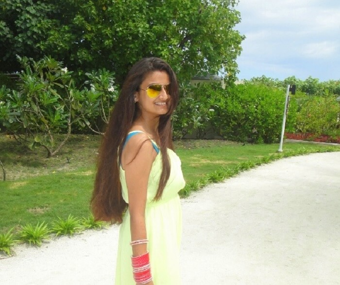 Tanu in Maldives