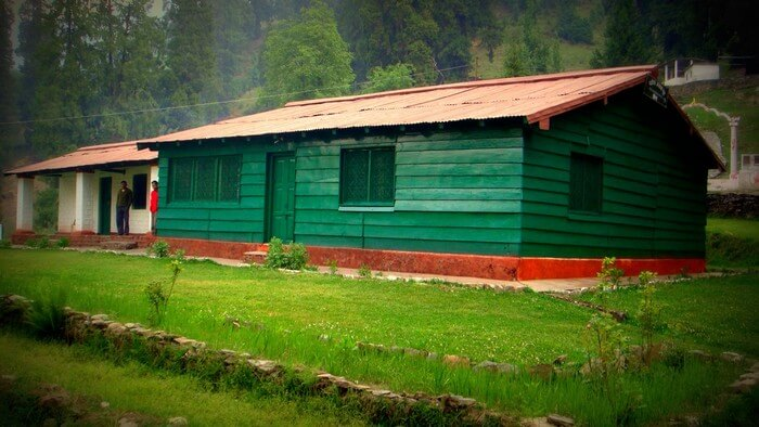 GMVN rest house in Roopkund