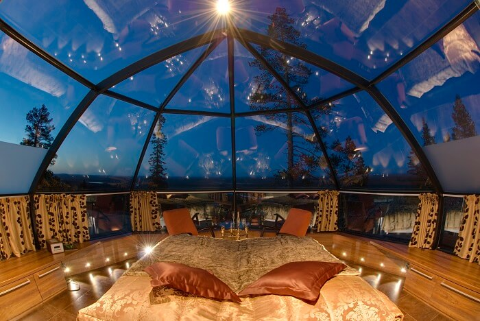The stunning Glass Igloo in Finland