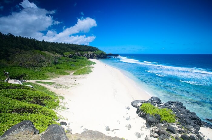 Gris Gris Beach is one of the best beaches in Mauritius