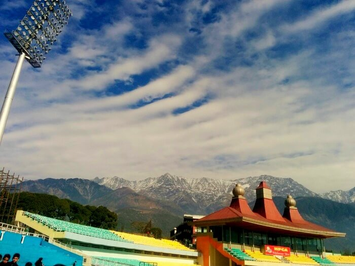 Beautiful Dharamshala Stadium