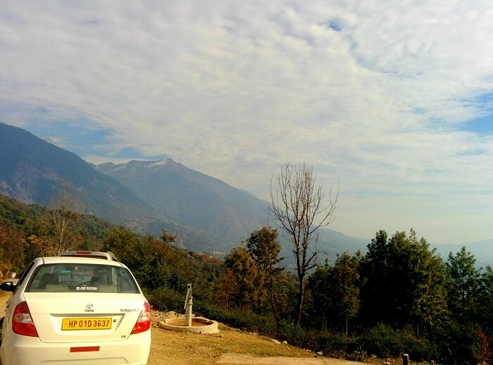 Scenic beauty in Dharamshala