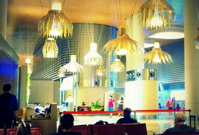 Waiting at Dubai International Airport