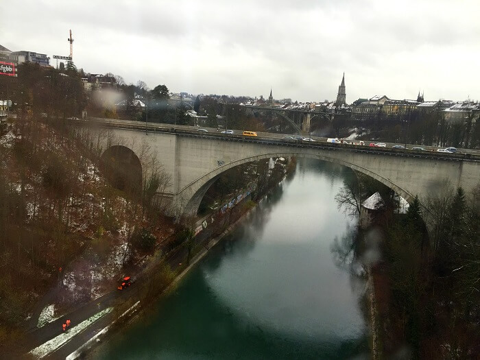 A beautiful image clicked by Sameer, of a bridge in Zurich