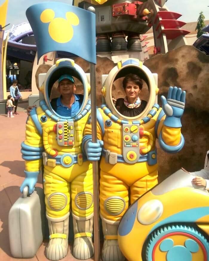 Reliving childhood in Disneyland, Hong Kong