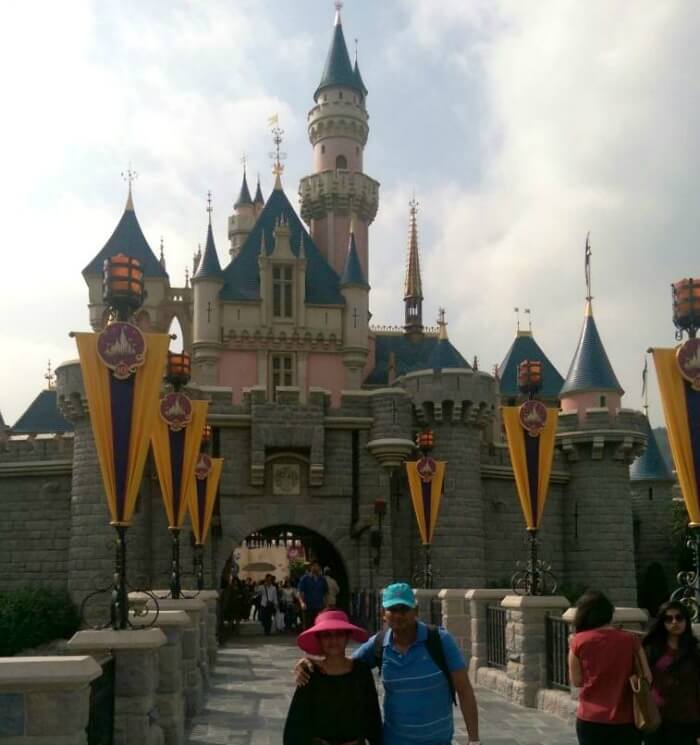 Feeling the magic of Disneyland in Hong Kong