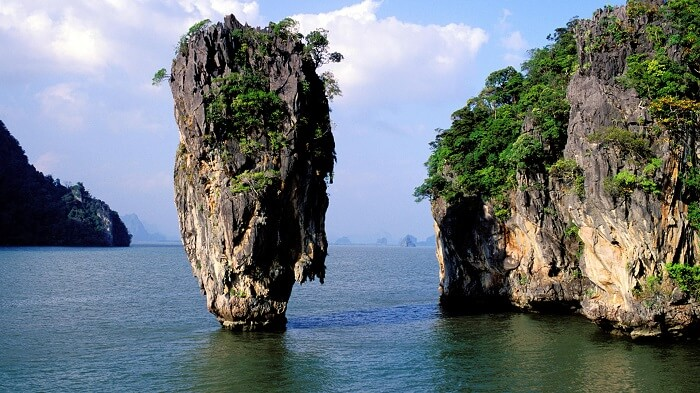 Khao Phing Kan is popularly known as James Bond island