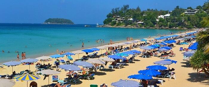 Kata Noi Beach is a serene beach in Phuket