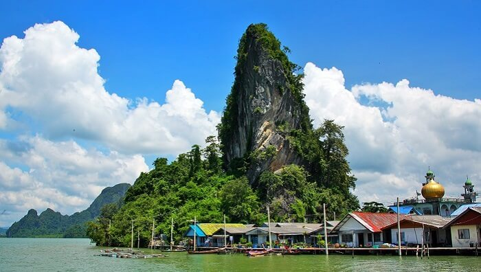 The floating village of Koh Panyee is among the must visit places in Phuket