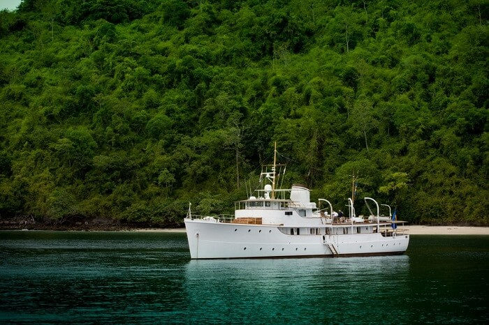La Moet day cruise is a popular tourist attraction of Phuket