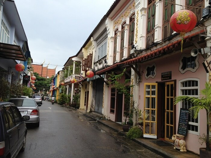 The streets of Old Phuket is a must visit while on a trip to Phuket