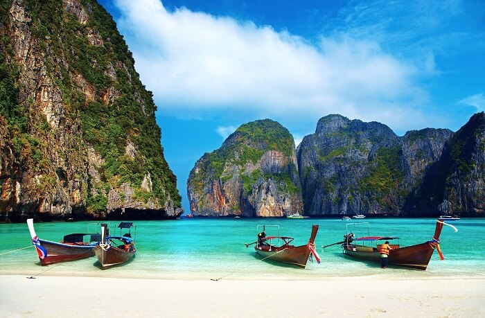 Phi Phi Islands is among the popular places to visit in Phuket