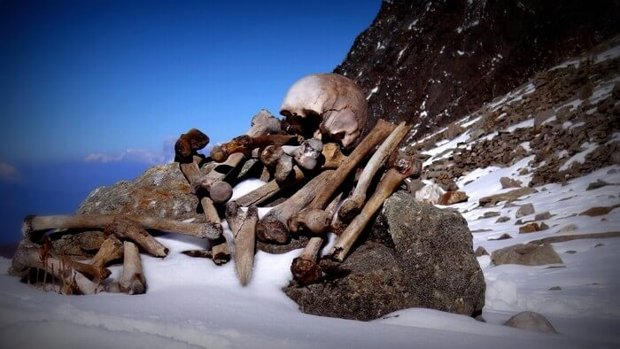 The skeletons around the Roopkund lake have been a mystery for long