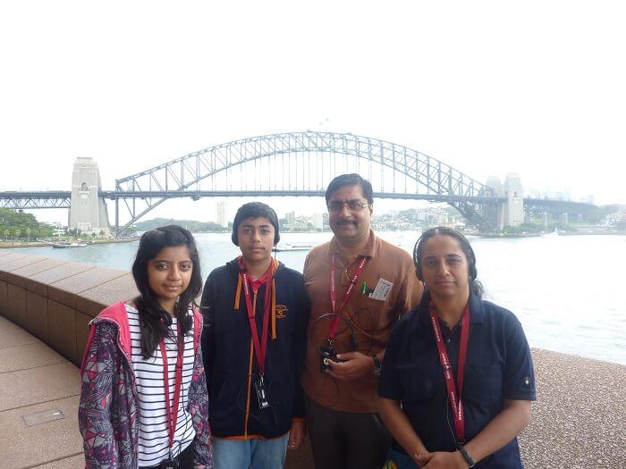 Sydney Bridge from Opera House Audio Tour