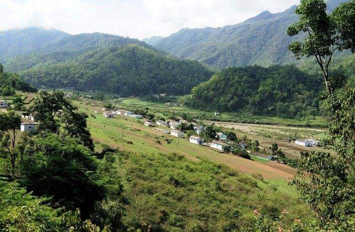 Lohajung and Wan Village