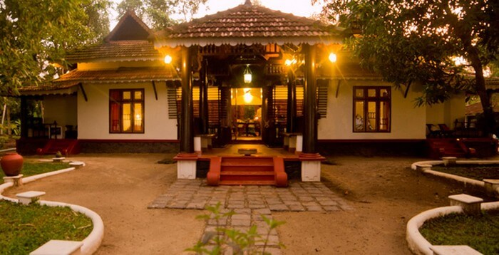 Rustic charm of the Vembanad House makes it a popular homestay in Kerala