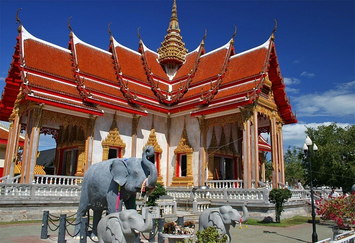 Wat Chalong is a beautiful monastery in Phuket