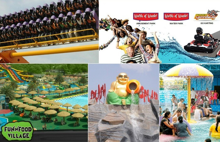 Some of the best amusement parks in Delhi NCR