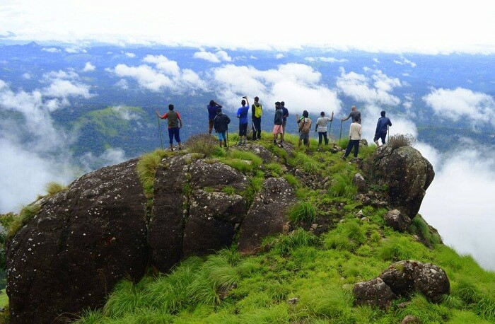 The highest peak in Munnar